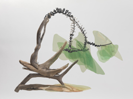"inclair, time project, ""lung tree"", sculpture"